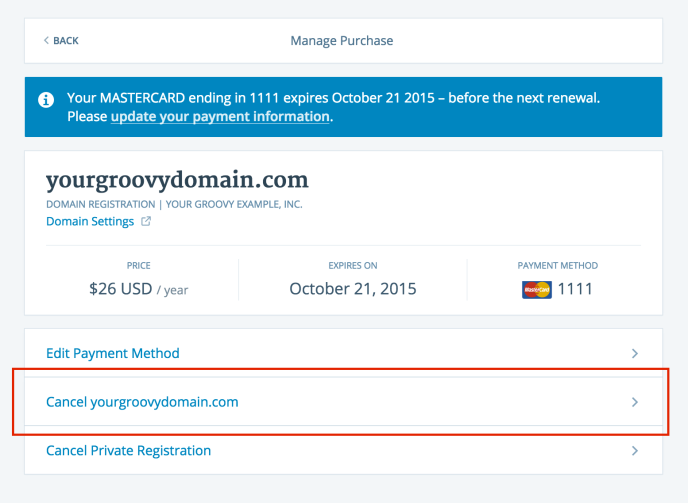 Manage Purchases — Support — WordPress.com