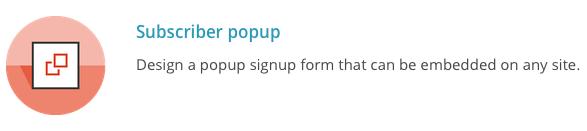 MailChimp Subsriber Popup