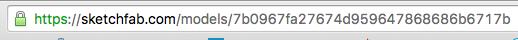Sketchfab URL