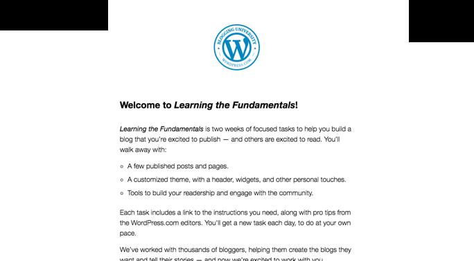 Fondamentaux du «blogging»