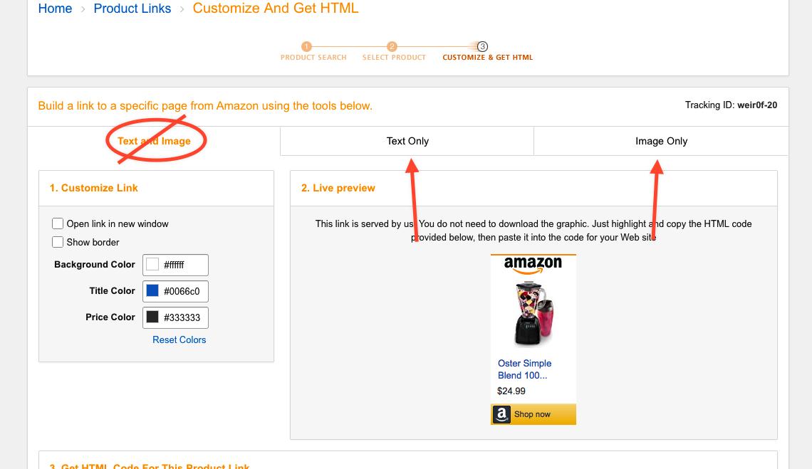 Adding Amazoncom Affiliate Links to your WordPresscom site