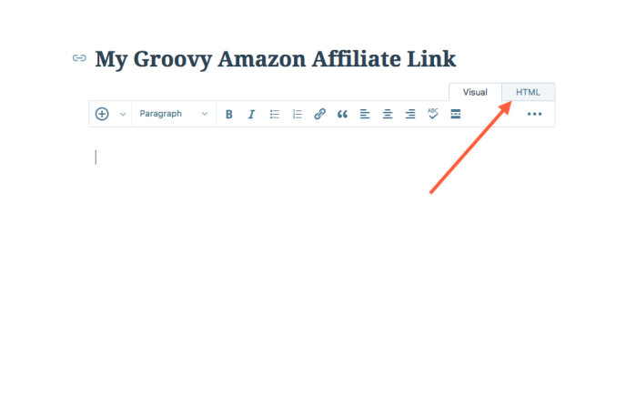 Adding Amazon com Affiliate Links to your WordPress com site