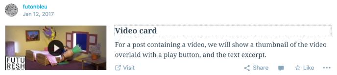 Reader Video Card