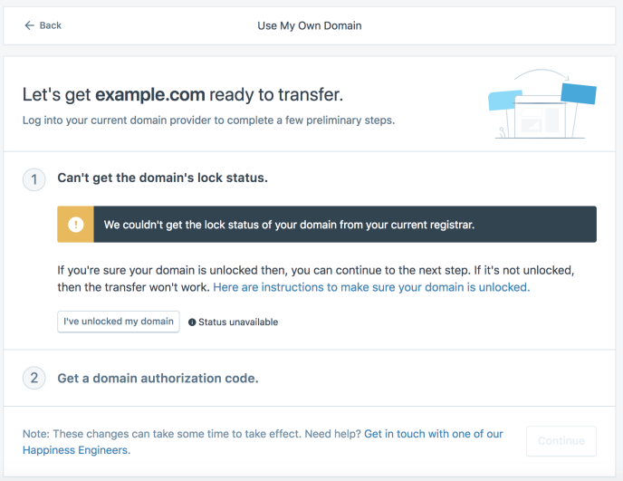 Transferring a domain you already own to WordPress com — Support