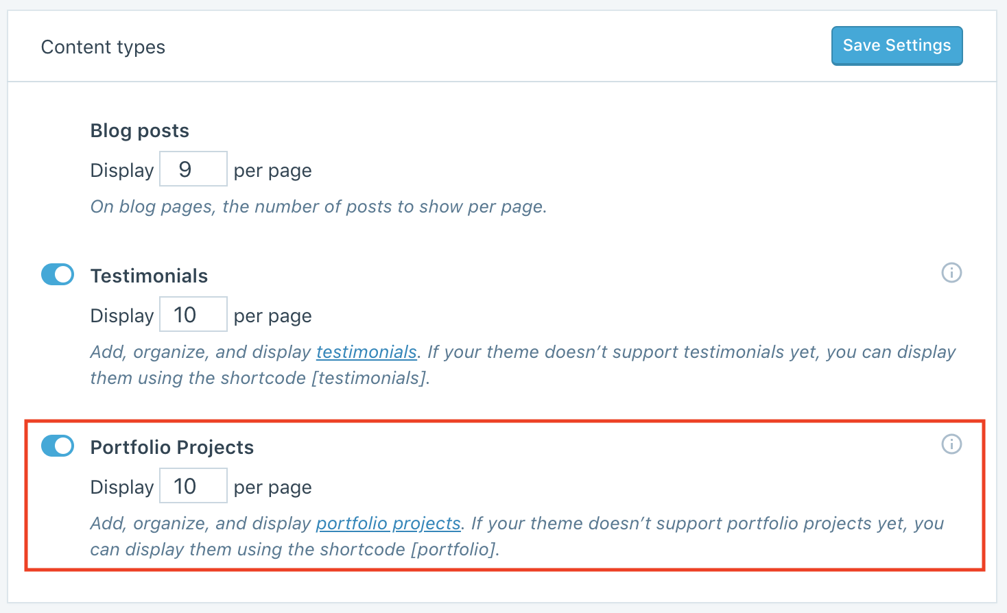 Portfolios — Support — WordPress com