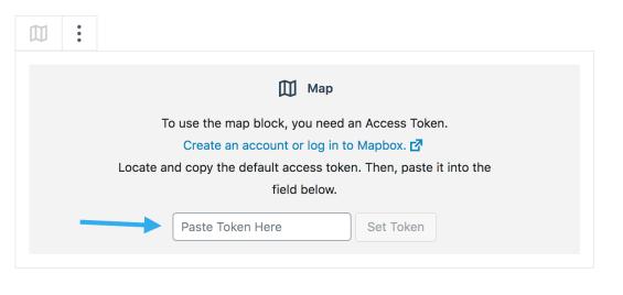 Mapbox Access Token
