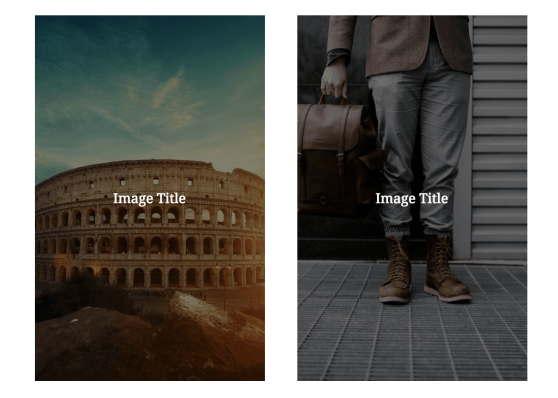 Columns + Cover Image