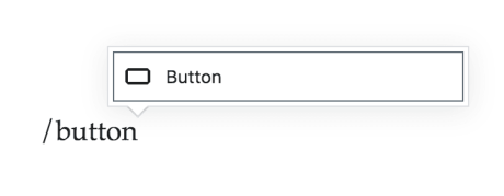 Button Block Add Typing