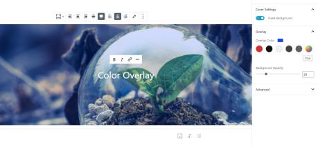 Adicione uma sobreposição de cor e defina a opacidade dela.