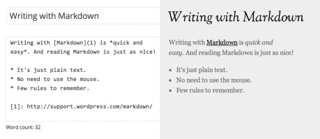 writing-with-markdown