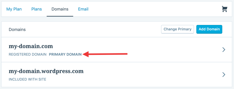 You Can Verify The Primary Domain By Noting The Green Checkmark Next To Primary Domain Listing