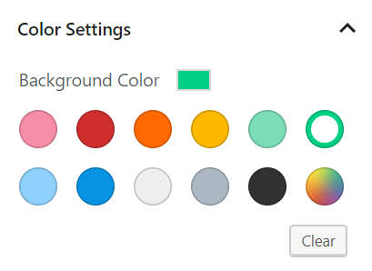Media & Text Block - Color Settings