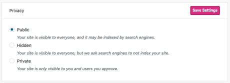 Privacy - Privacy Settings
