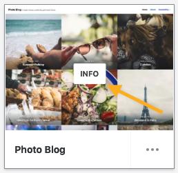 Themes - Info on Thumbnail