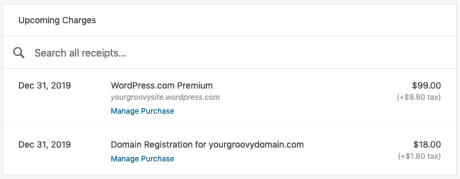 Paypal 1800 Number >> Billing History Support Wordpress Com