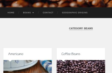 Catégories - Page de catégorie