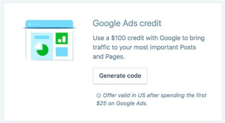 Generate Google Credit Code