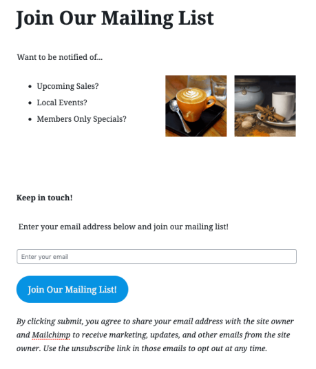 Mailchimp - Full Form