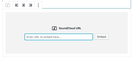 SoundCloud Block