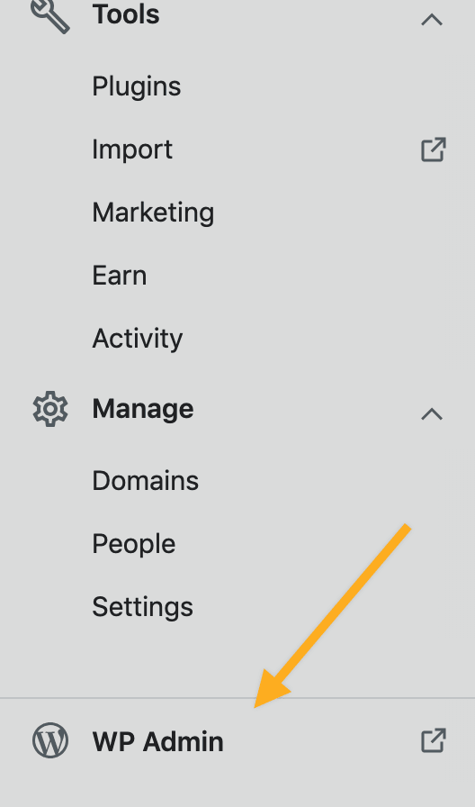 Managing Plugins from WP Admin