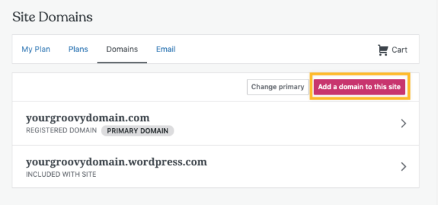 Transferring A Domain You Already Own To Wordpress Com Support Wordpress Com