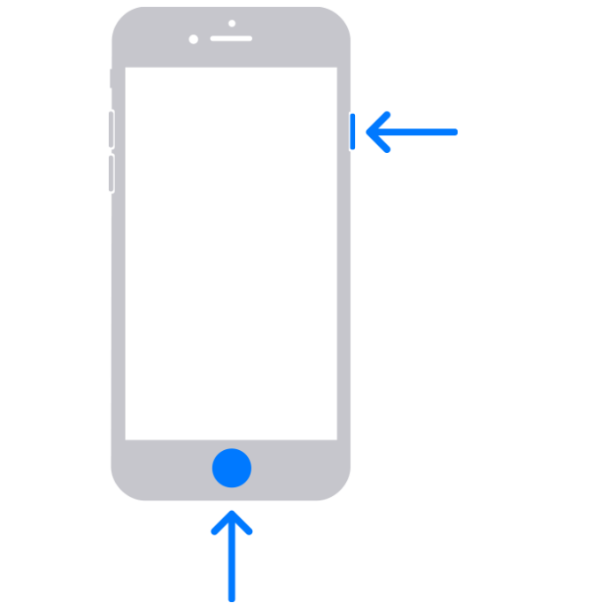 iPhone models with Touch ID and Side button