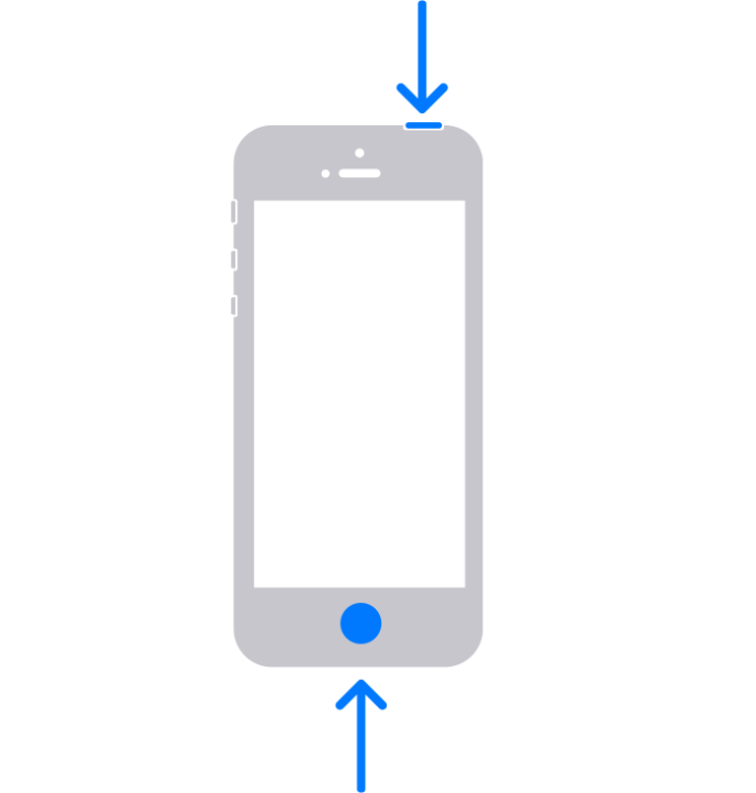 iPhone models with Touch ID and Top button