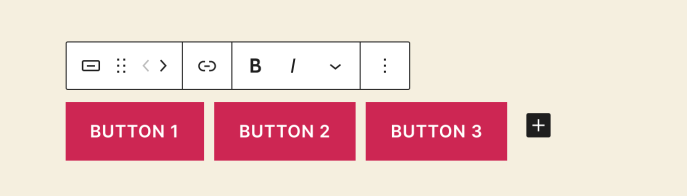 Button block toolbar